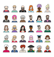characters part4 vector image vector image