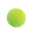 green sketchy abstract circle scribble background vector image vector image