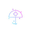 health care health insurance medical umbrella vector image