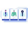 online doctor set 4 vector image