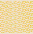 seamless delicate pattern with retro vector image vector image