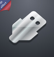 USB icon symbol 3D style Trendy modern design with vector image