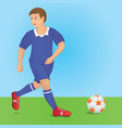 footplayer vector image