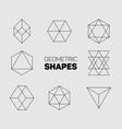 abstract regular geometric shapes