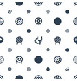aim icons pattern seamless white background vector image vector image