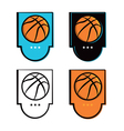 Basketball Logo vector image vector image