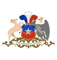 coat of arms of Chile vector image