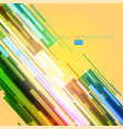 Colorful backgrounds on a yellow