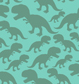 Dinosaur seamless pattern Dino texture vector image vector image