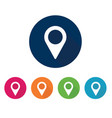 location icon placeholder vector image vector image