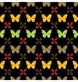 seamless pattern with butterflies Stylish vector image vector image