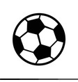 soccer icon design vector image