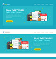 website template design to do or check list vector image