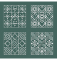 Set of geometric hipster shapes 4477 vector image
