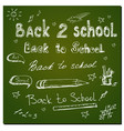 education and back to school vector image