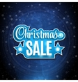 Frame with the words Christmas Sale Background on vector image