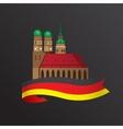 German symbol Towers of vector image