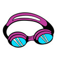 goggles for swim icon icon cartoon vector image vector image