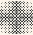 halftone seamless texture with floral crosses vector image vector image