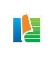 paper document data storage logo vector image vector image