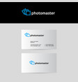 photo school logo vector image vector image