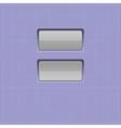 set buttons web element vector image