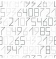 Zip code seamless vector image