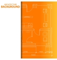 Best architecture background vector image vector image