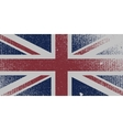 Distressed UK Flag vector image vector image
