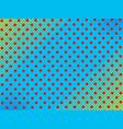 elegant pop art dotted background vector image