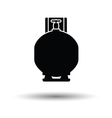 Gas cylinder icon vector image vector image