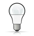 light bulb design concept vector image