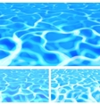 Pool Water vector image vector image