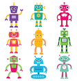 Robots set vector | Price: 3 Credits (USD $3)