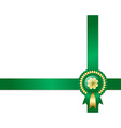 Saint Patricks Day Irish background vector image vector image