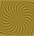 spiral abstract background vector image vector image