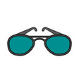 sunglasses eyewear icon image vector image vector image