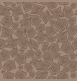 turtle shell seamless pattern vector image