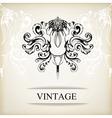 Vintage elegant background for invitations vector image vector image