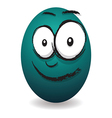 emotions eggs coloured happy vector image vector image