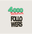follower banner comic text pop art design vector image