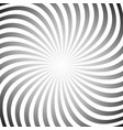 hypnotic swirl background vector image vector image