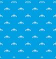 millau viaduct bridge pattern seamless blue vector image vector image