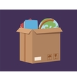 Move service box full vector image vector image