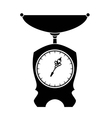 Old style scales vector image vector image