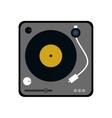 vinyl machine music sound dj icon graphic vector image vector image