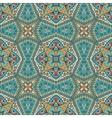 arabesque mosaic seamless pattern vector image