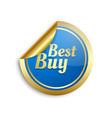 best buy sticker vector image vector image