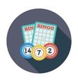Bingo icon vector image