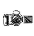 bridge camera vector image vector image